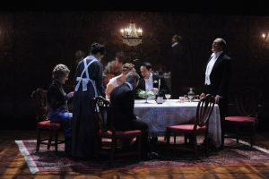 The company of Everyman Theatre's production of An Inspector Calls
